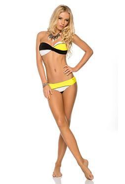 Phax Surfar Strapless Twist Bandeau Bikini Set