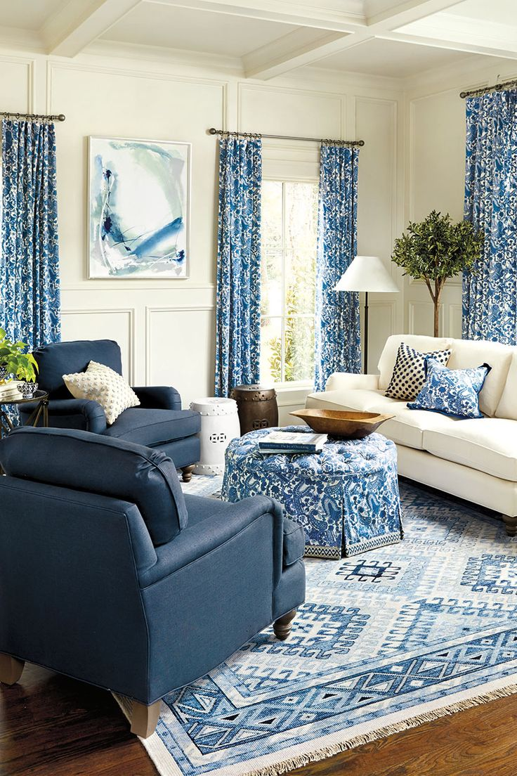 Inspiration For Our Spring 2016 Collection. Blue Living RoomsLiving Room  IdeasLiving ...