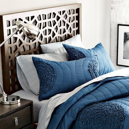 Make a contemporary headboard