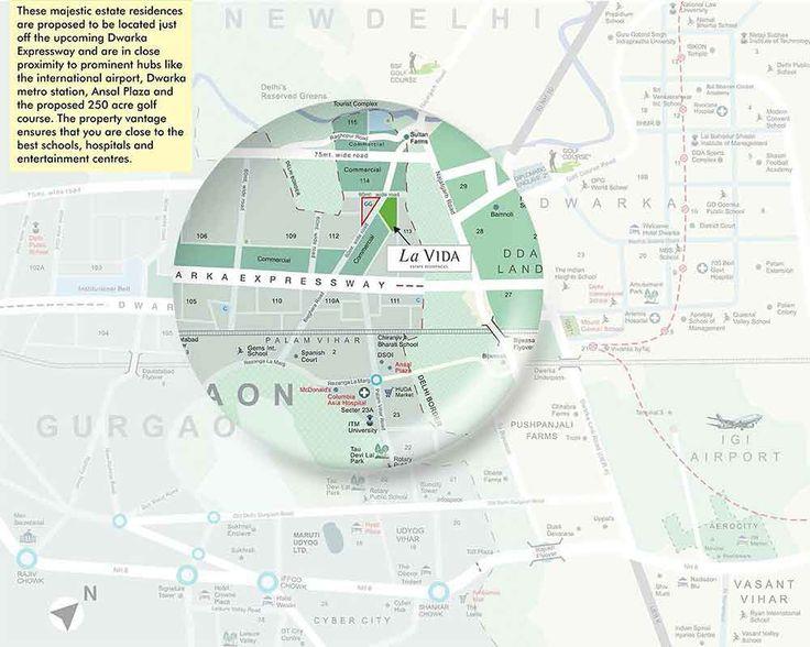 Tata Housing La Vida Location