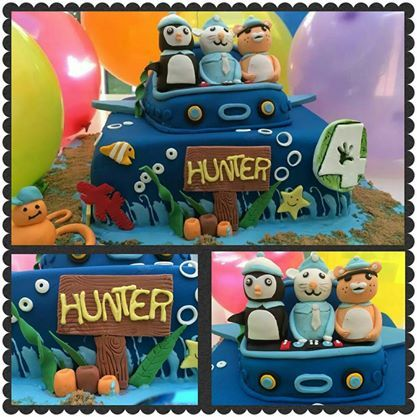 Octonaught cake for the special little one