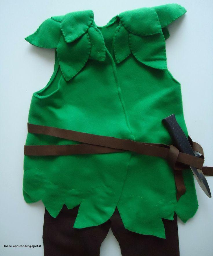 Costume di Peter Pan DIY