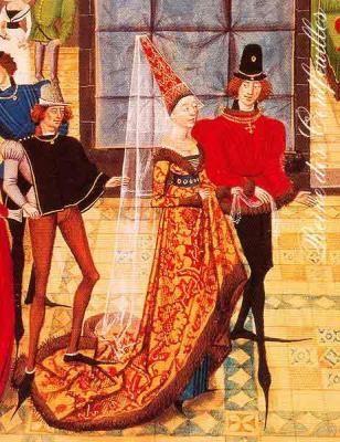 Средневековая мода обувь
