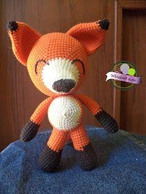 Szydełkowy lis  Crochet Fox