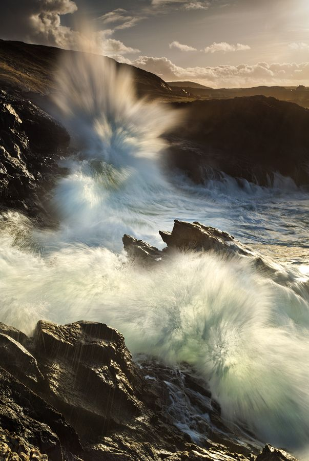 Crash by Gary McParland, via 500px; Rosguill Peninsula, County Donegal, Ireland