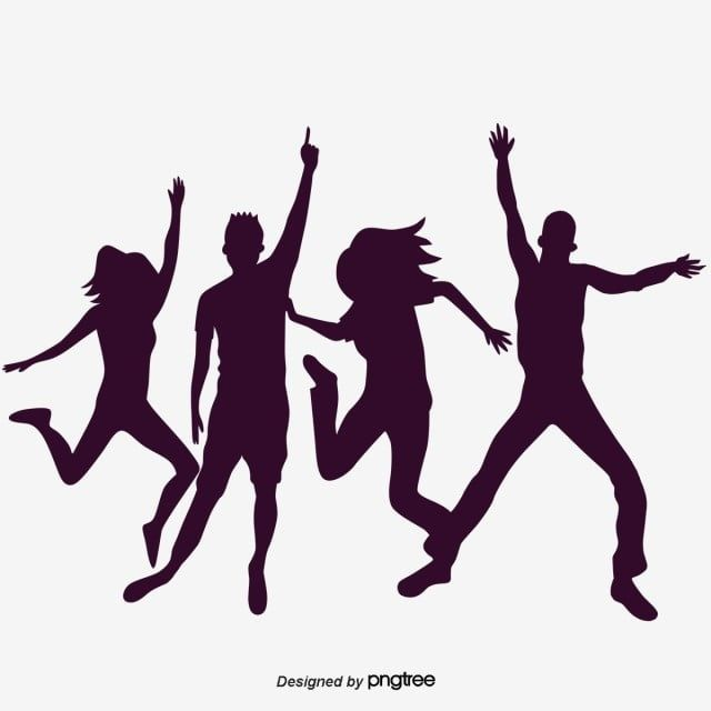 Hip Hop Silhouette Figures Hip Hop Character Sketch Png Transparent Clipart Image And Psd File For Free Download Hip Hop Silhouette Clipart Images