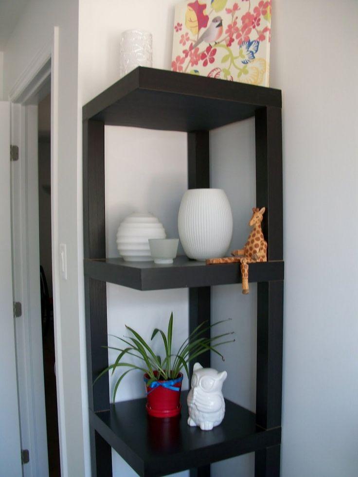 Black Corner Wall Shelf best 25+ corner shelving unit ideas on pinterest | small corner