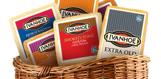 Ivanhoe Cheese - located in Ivanhoe, ON.  True to our beginnings, we continue to produce award-winning artisan cheddars, as well as an extensive selection of specialty cheeses including Naturally Smoked Gouda and flavoured Monterey Jacks. We even offer Kosher and Halal varieties.  #cheese #cheddar #gayleafoods