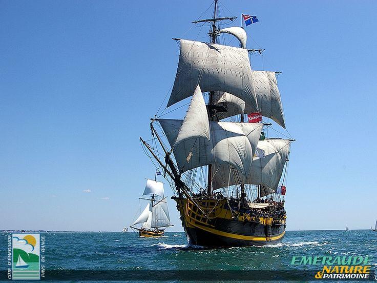 L 39 toile du roy la fr gate corsaire 3 mats favorite - Voile bateau pirate ...