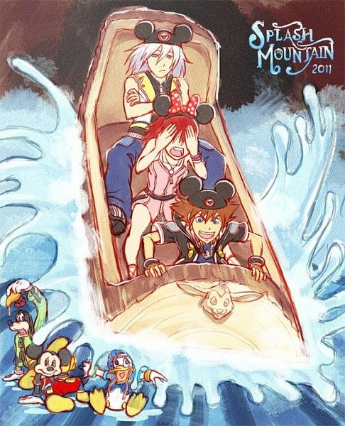 I think the Kingdom Hearts characters should be in Disney World! Just like Mickey and Donald and Goofy are! I mean, how awesome would it be to have a Destiny Islands themed area of the park?!?!