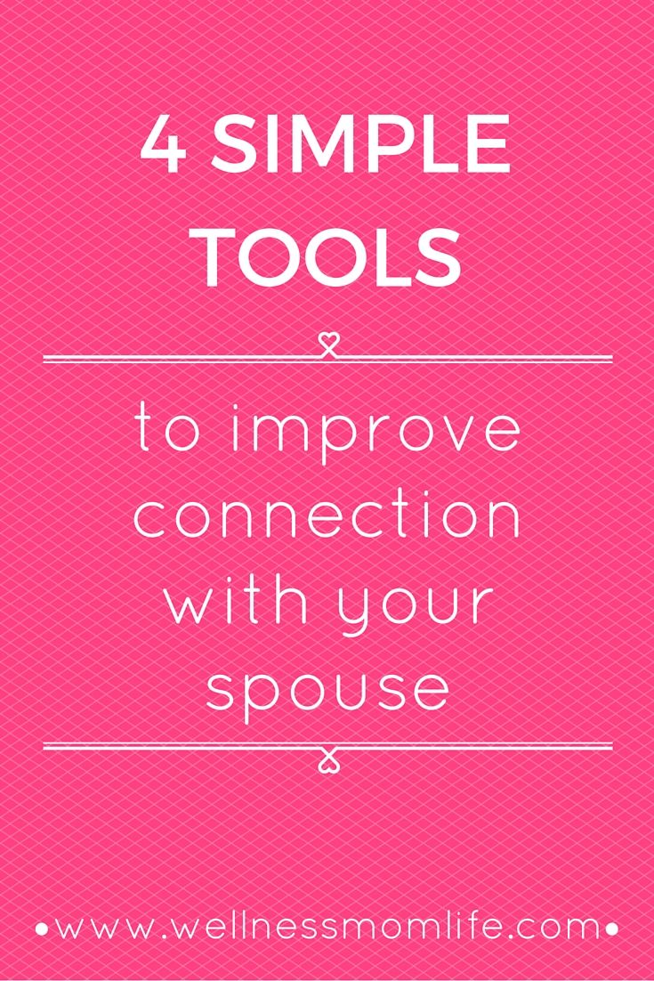 Do you want to improve connection with your spouse but not sure where to start? Try out these simple tools to help you improve communication and connection in your marriage.  Plus get access to additional marriage freebies!