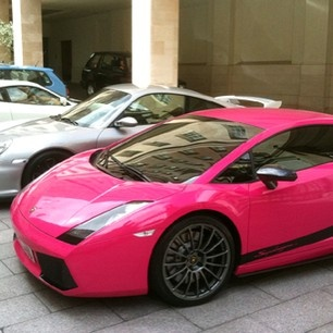 Omg I Want This Pink Car So Bad