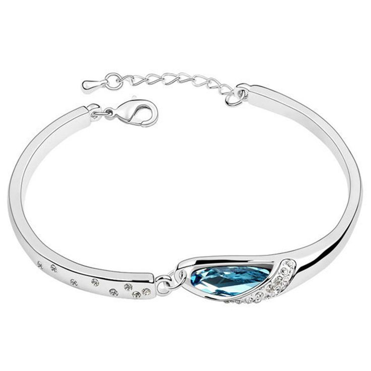 Factory Price Popular Austrian Crystal Bracelets For Women Christmas Gift Jewelry Accessory