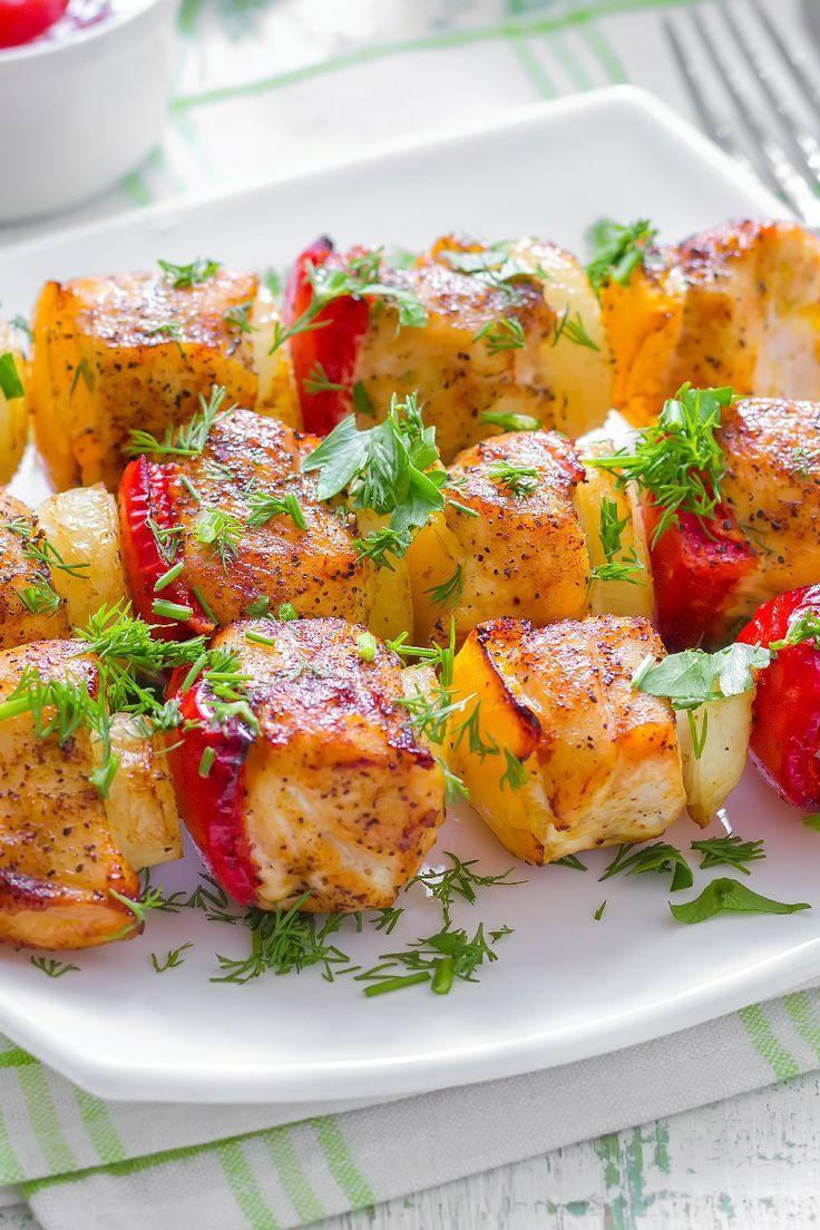 Honey Chicken Kabobs Recipe