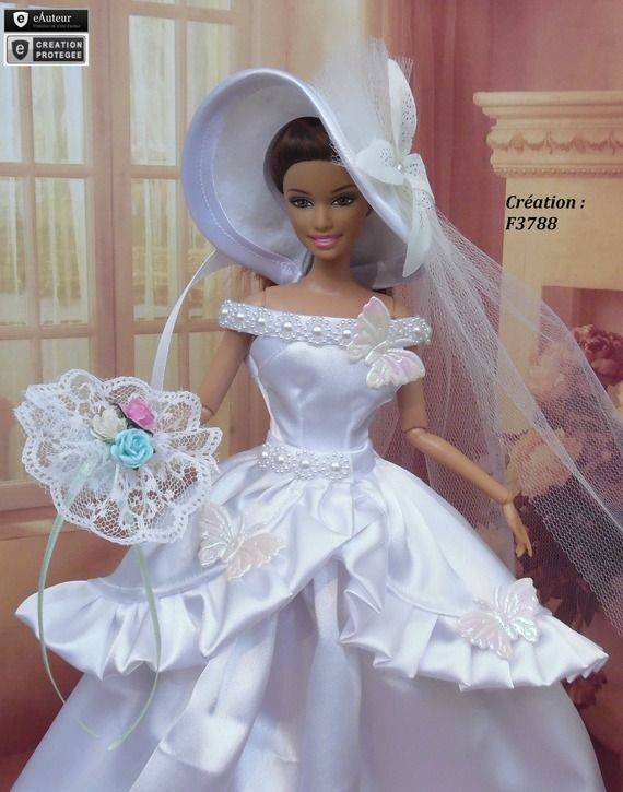 482 best wedding dream images on pinterest barbie - Barbie mariee ...