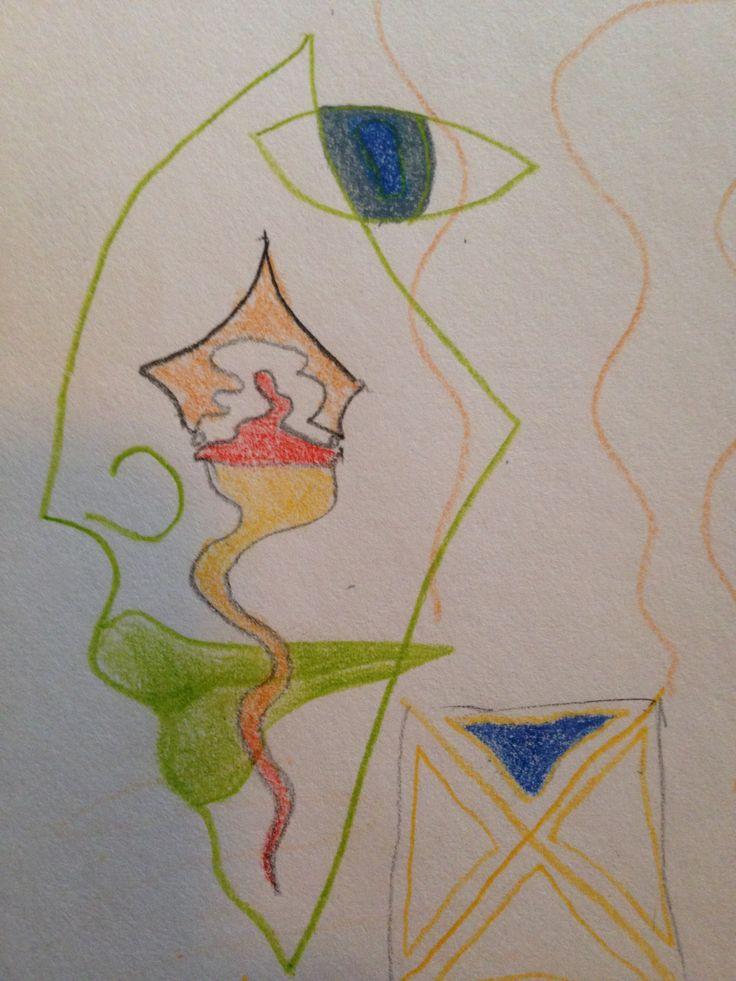 Coloured pencil drawing. www.EricaRoss.com