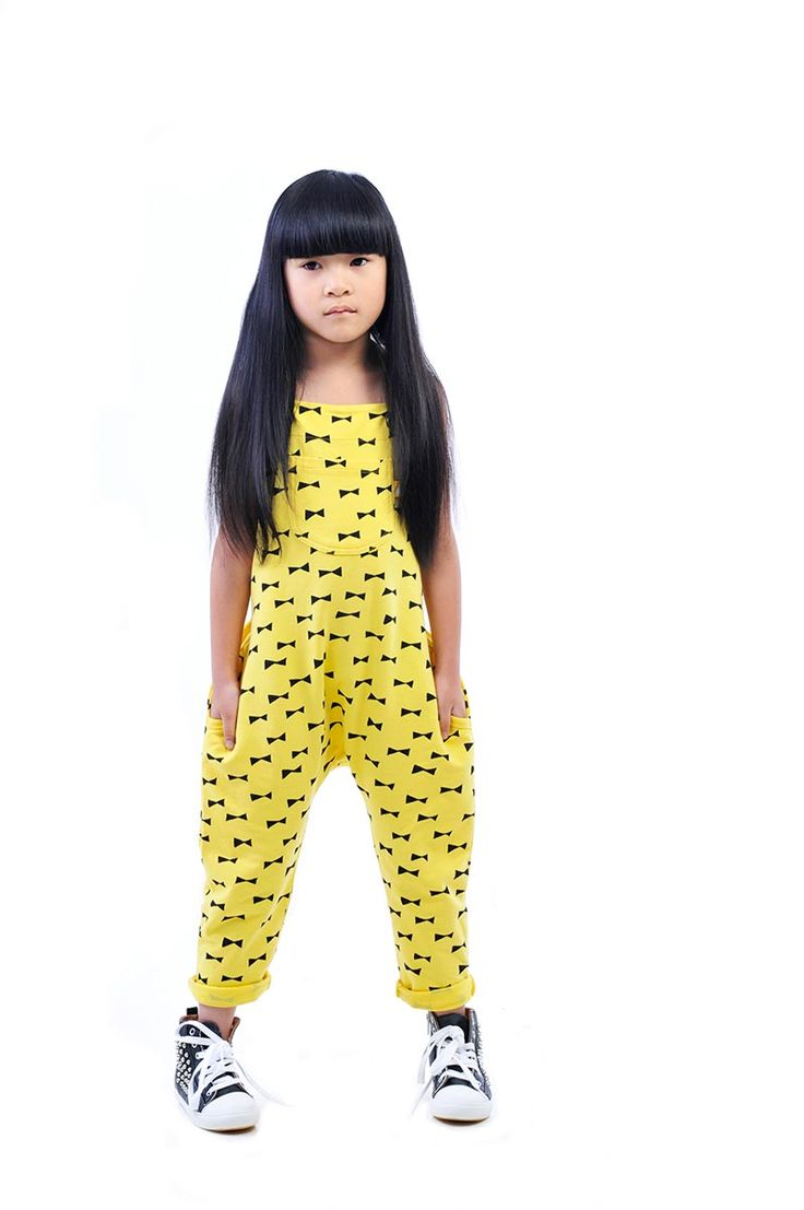 Bows Jumpsuit seizes 1-7yrs (Collaboration with Ashley Goldberg)