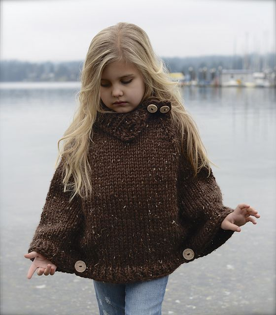 Ravelry: Riyver Cape pattern by Heidi May