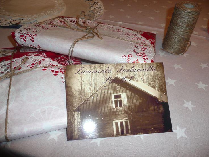 Joulupaketti, julpaket, christmaspacket