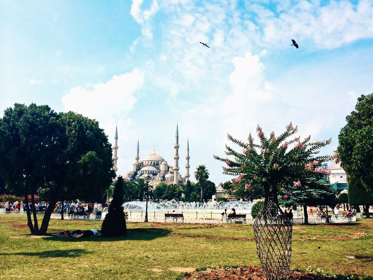The Blue Mosque, Istanbul. Very Postcard-esque