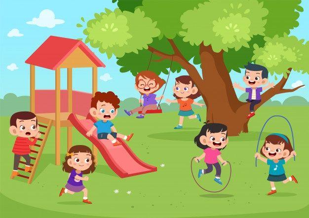 Parque Infantil Juntos Premium Vector Freepik Vector Arbol Personas Bebe Ninos Juegos Para Ninos Ninos Leyendo Dibujos Para Ninos