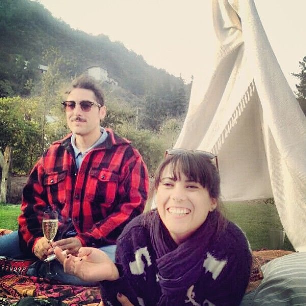 Otoño 2013 / Abril - Cazadora!  #osolandia con mi Lady Em #style #styleguide #otoño #friends #desing #detail #happy #photo #champagne #music