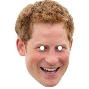 Prince Harry Celebrity Mask