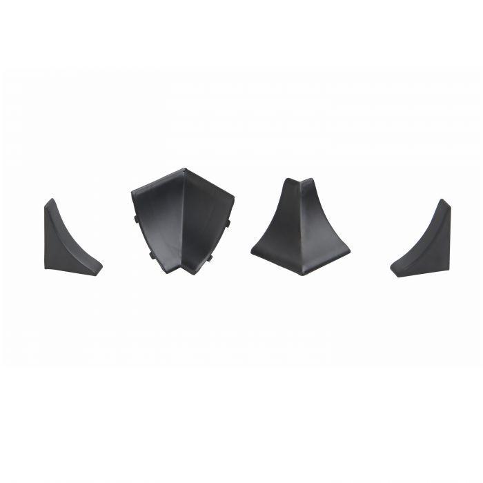 Kit De Finition Profil Etancheite Rigide Noir Plan De Travail