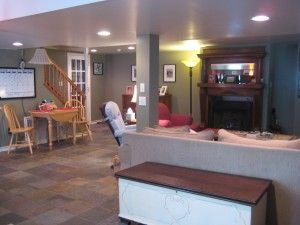 26 best garage conversions images on pinterest cottage for Basement mother in law suite