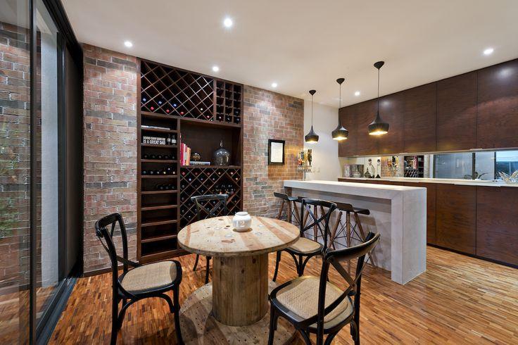 Bar Casa ATT |  Dionne Arquitectos #winecellar #bar #interior #design #architecture