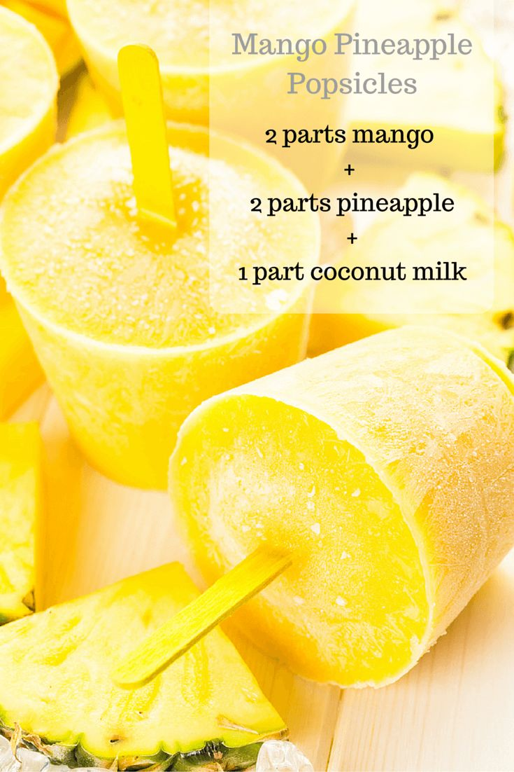 Homemade REAL Fruit Popsicles - The Produce Mom