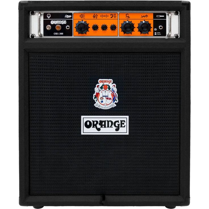 Orange OB1-300 Bass Amp Combo - Black