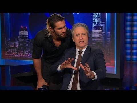 Seth Rollins crashes the Daily Show