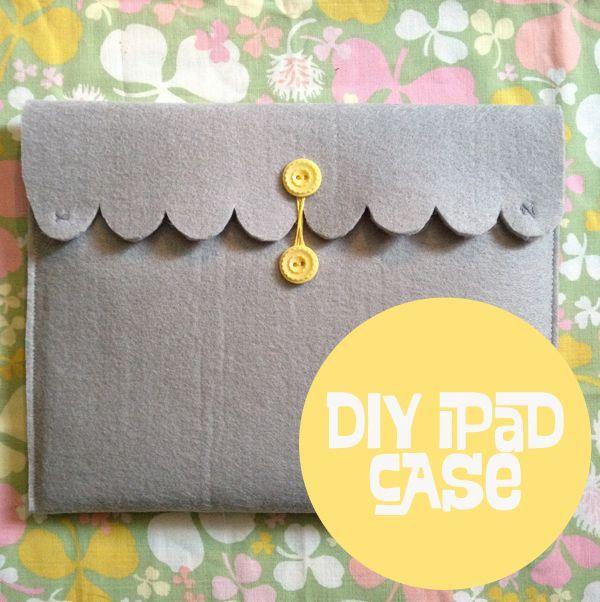 Oh So Lovely Vintage: DIY Ipad case!