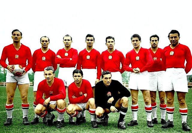 Equipos de fútbol: 1953-54
