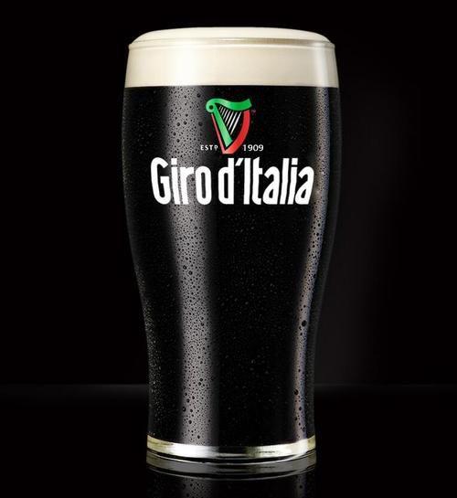 Giro d'Italia starts from Ireland in 2014 #guinness