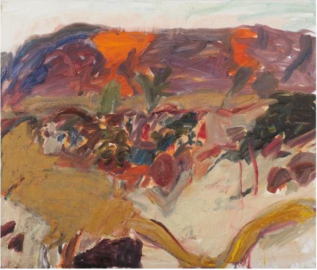 Elisabeth Cummings-Mountains at Dusk