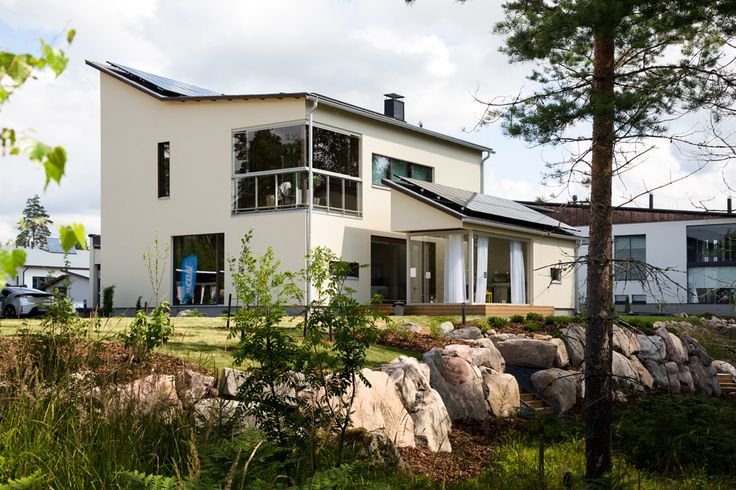 In 2012 Saint-Gobain accepted the challenge of managing a zero-energy new build project for a showcase project in Finland.  Built for the Hyvinkää Housing Fair in 2013, Villa ISOVER was designed first and foremost to provide a spatially interesting, environmentally sustainable, optimally comfortable and, if necessary, flexible family home. It incorporates zero-energy design principles throughout.