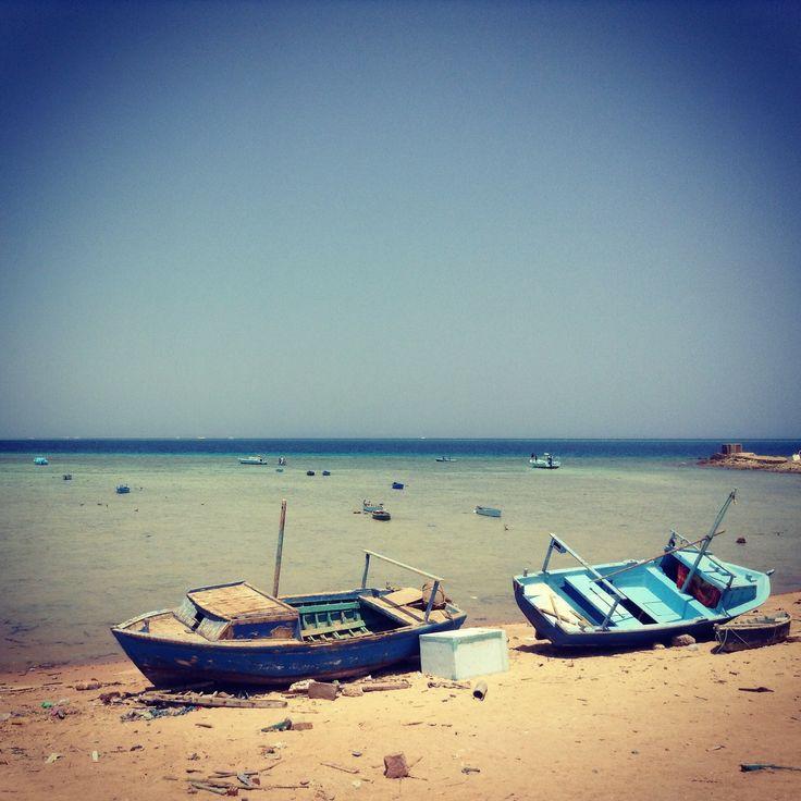 Beach, Hurghada, Egypt