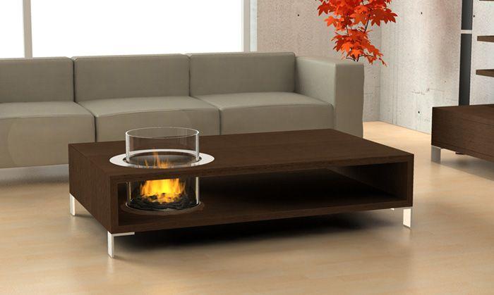Indoor Fireplace – Planika Coffee Table Indoor Fireplace