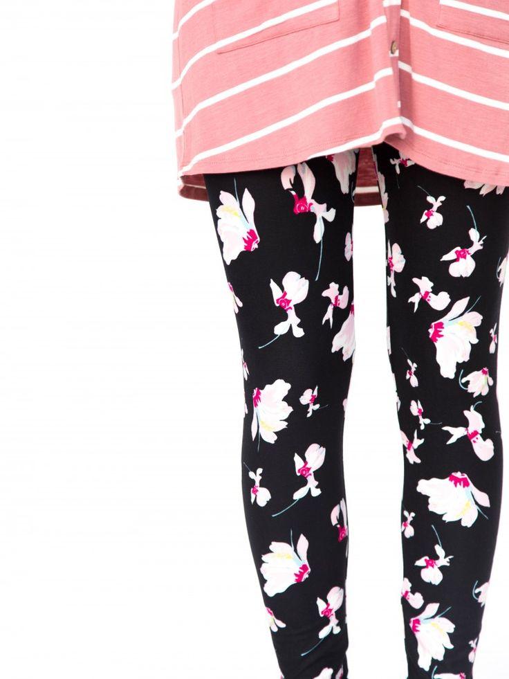 Agnes & Dora - Leggings Falling Iris Black Floral Legging Outfit www.shopmyprettythings.com #ootd #agnesanddora #agnesanddorabyayano #outfit #mystyle #leggings #shopsmall #leggingsarepants  #coffee #smallbiz #coffeetime #igfashion #fashion #stripes #comfyclothes #floral #legginglife #legginglove #shopmyprettythings #retailtherapy #flatlay #sale #thatsdarling #saturday #onlineshopping #wanderlust #empowersocial #pattern #legging #ruffle #datenight #sweater #sweaterweather #distressed #boho