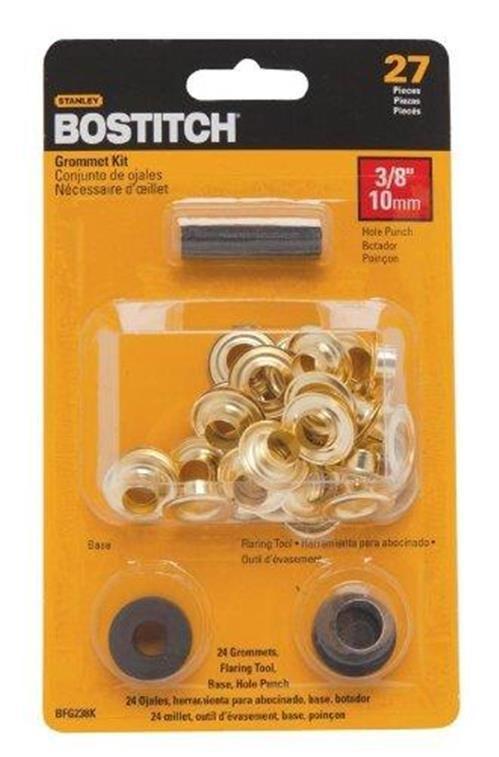 STANLEY BOSTITCH BFG238K 27 Piece Grommet Tool Kit 3/8-Inch