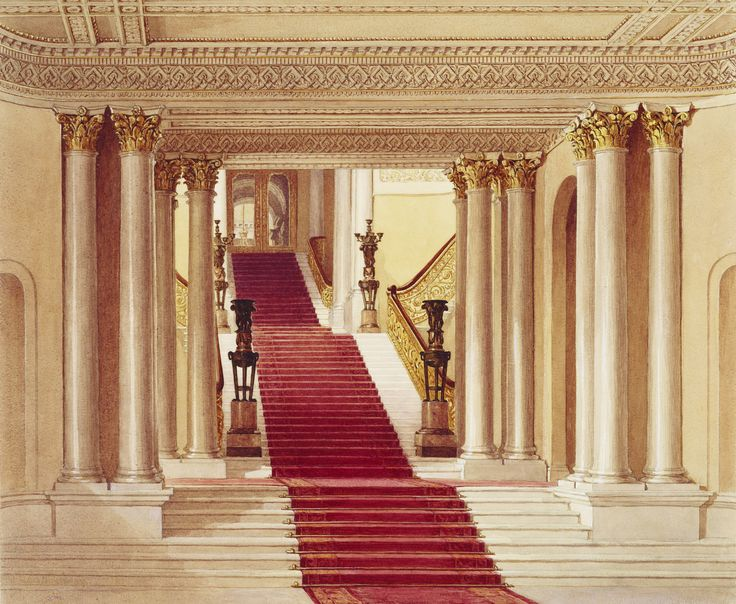 9 best images about Buckingham Palace Staircase on ...