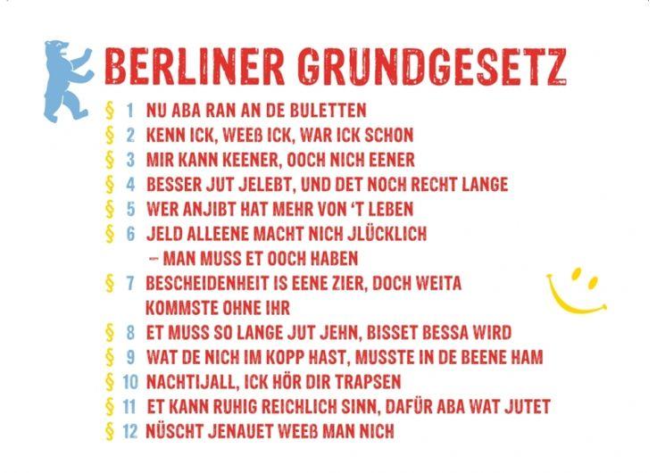 Berlinerisch Dialekt