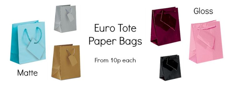 Recyclable, reusable, sturdy and durable these bags offer everything you need. With its simple design it offers a great branding opportunity for your company. Available in a large range of colours and sizes you will spoilt for choice. Made from a high quality paper each bag comes with a matching gift tag.