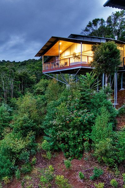 O'Reilly's Rainforest Retreat, Villas & Lost World Spa in Australia is a #Fodors100 winner in the Trip of a Lifetime category. It's a magical location.