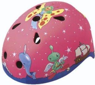 BeSafe Psycho pyöräilykypärä on kaunis ja turvallinen. Fantasy -kuosi on satumainen kypärä pikkutytölle. Anna mielikuvituksen lentää! Koko on 46-52 cm. Myynnissä lastenverkkokauppa.fi