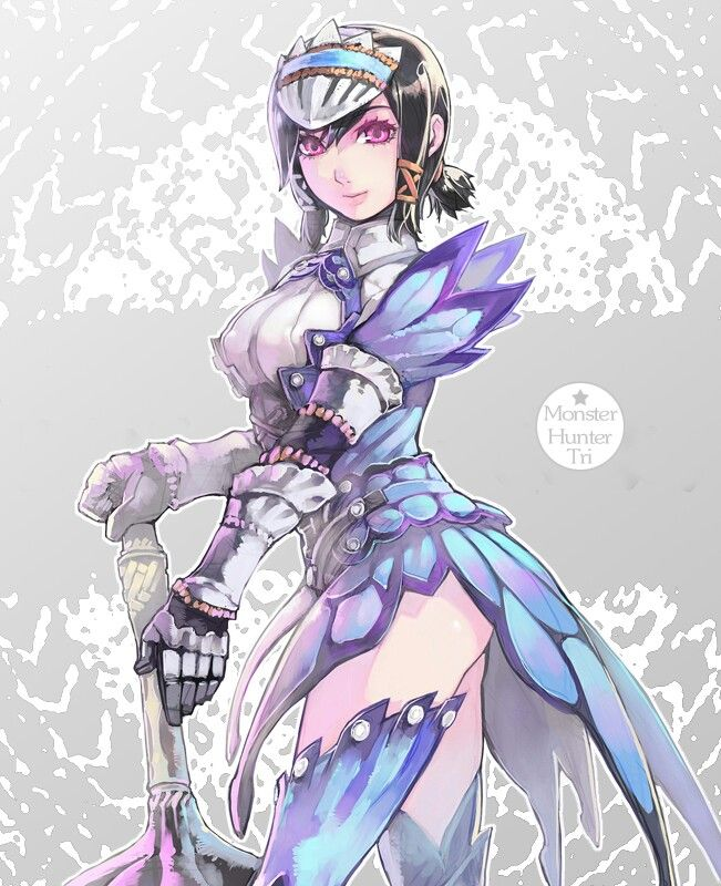 Anime Characters Monster Hunter World : Master anime ecchi picture wallpapers http epicwallcz