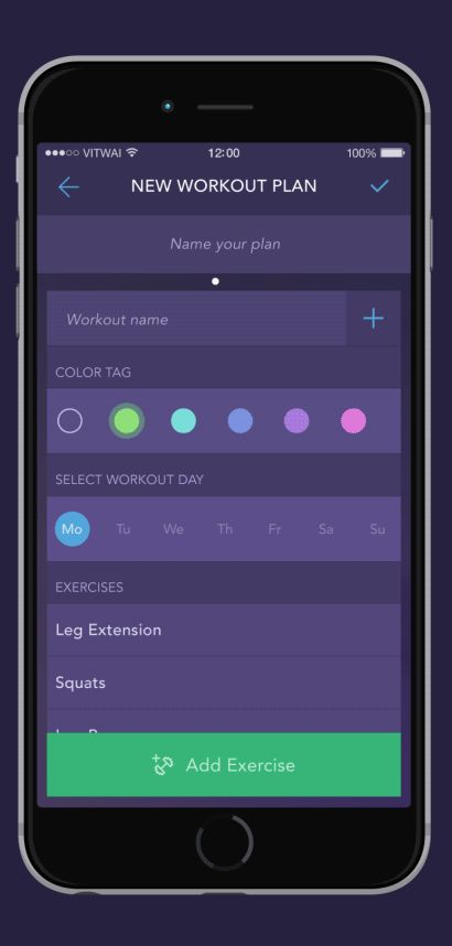 https://www.behance.net/gallery/27399145/Workout-Book-workout-tracking-app-concept