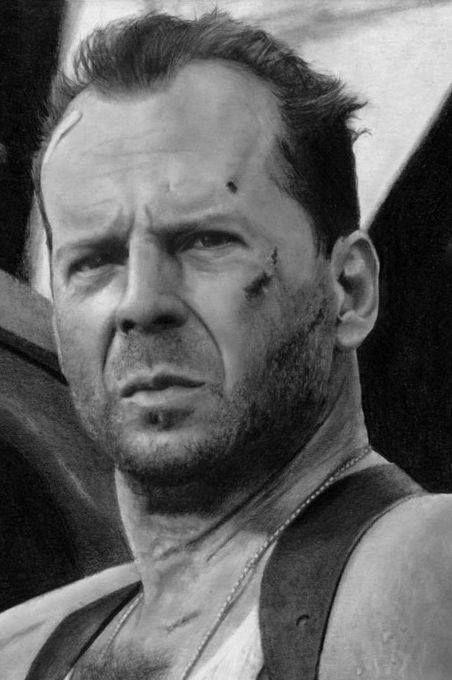 Bruce Willis   by Lukasz Stopczynski   Pracownia Sztuki SZKIC